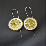 Náušnice  citrónky